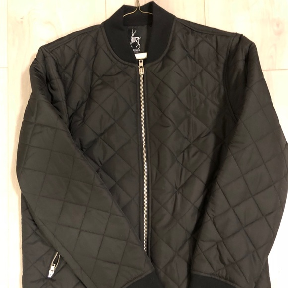 395f0d2820a kane and unke Jackets & Coats | Mens Kaneunke Black Bomber Jacket ...